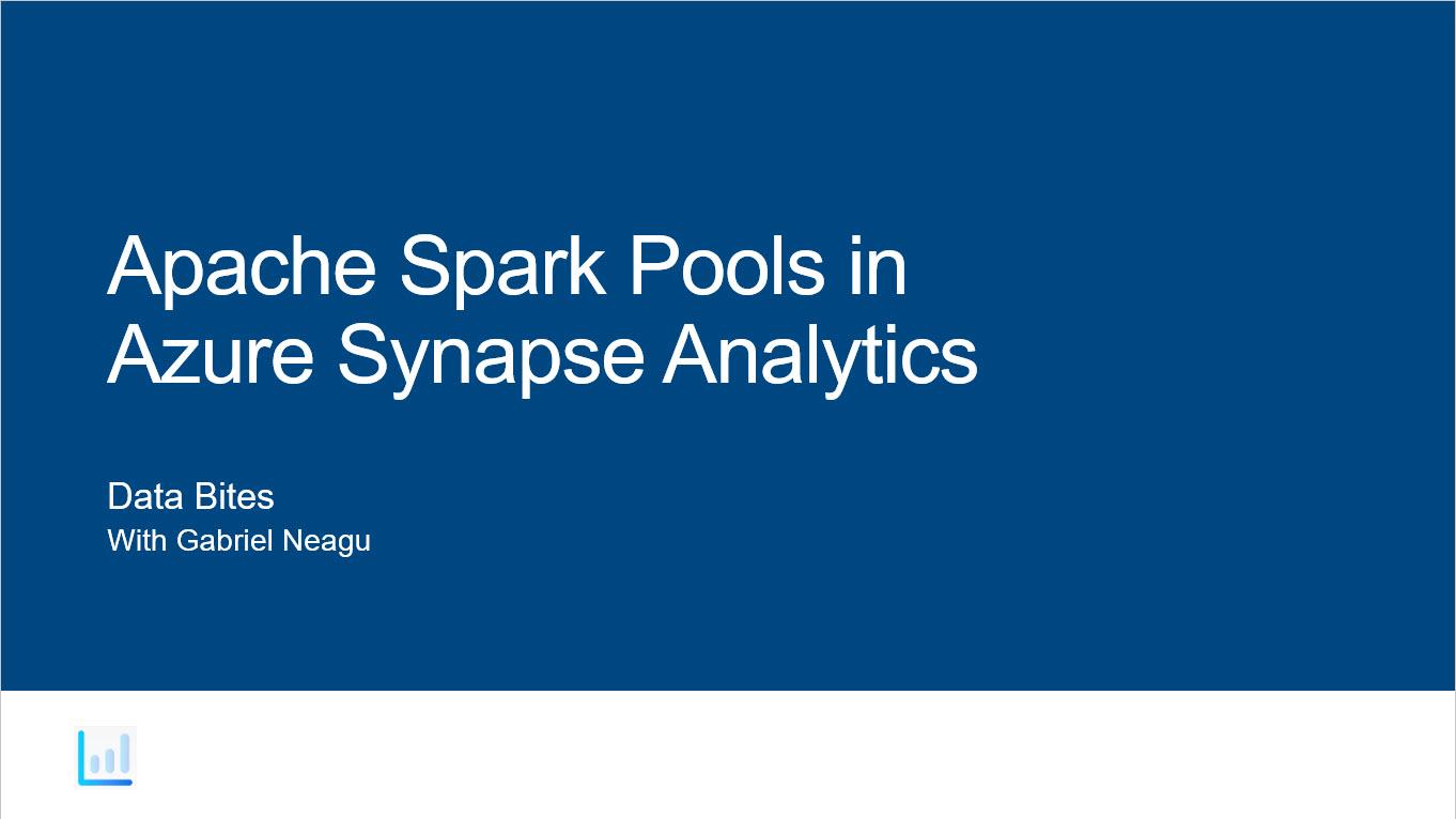 Apache Spark Pools