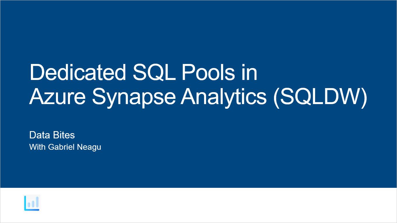 Dedicated SQL Pools
